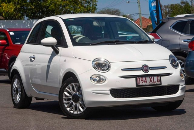 Used Fiat 500 Series 4 POP Mount Gravatt, 2016 Fiat 500 Series 4 POP White 5 Speed Manual Hatchback