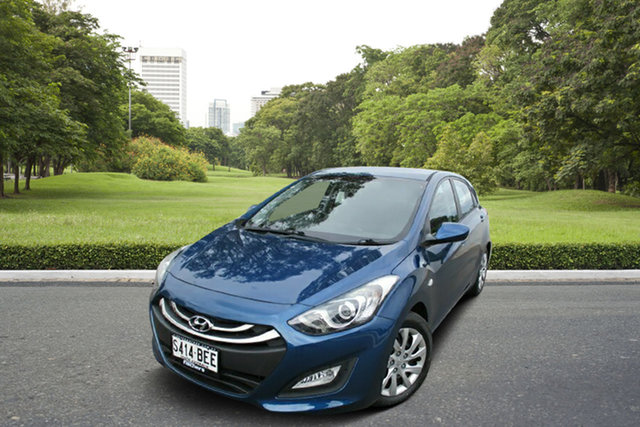 Used Hyundai i30 GD2 Active Murray Bridge, 2014 Hyundai i30 GD2 Active Blue 6 Speed Sports Automatic Hatchback