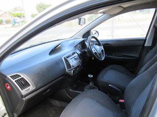 2012 Hyundai i20 PB Active Silver 6 Speed Manual Hatchback