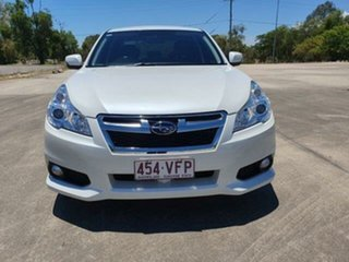 2014 Subaru Liberty B5 MY14 2.5i Lineartronic AWD Satin White 6 Speed Constant Variable Sedan.