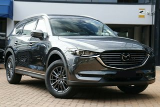 2020 Mazda CX-8 KG2WLA Touring SKYACTIV-Drive FWD Machine Grey 6 Speed Sports Automatic Wagon.