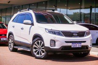 2014 Kia Sorento XM MY14 Platinum 4WD White 6 Speed Sports Automatic Wagon.