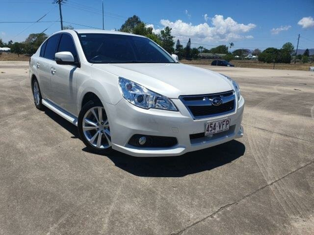 Used Subaru Liberty B5 MY14 2.5i Lineartronic AWD Townsville, 2014 Subaru Liberty B5 MY14 2.5i Lineartronic AWD Satin White 6 Speed Constant Variable Sedan