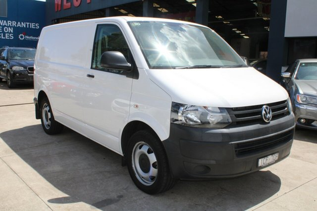 Used Volkswagen Transporter T5 MY15 TDI 400 SWB Low West Footscray, 2014 Volkswagen Transporter T5 MY15 TDI 400 SWB Low White 7 Speed Auto Direct Shift Van