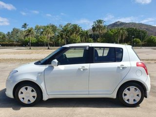 2008 Suzuki Swift RS415 White 4 Speed Automatic Hatchback