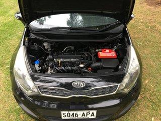 2011 Kia Rio UB MY12 S Black/Grey 4 Speed Sports Automatic Hatchback