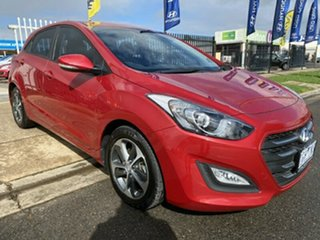 2015 Hyundai i30 GD3 Series II MY16 Active X Brilliant Red 6 Speed Sports Automatic Hatchback.