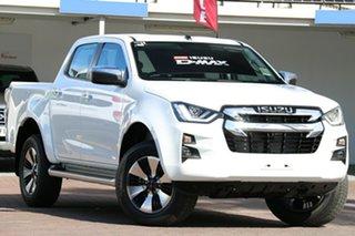 2020 Isuzu D-MAX TF MY21 LS-U (4x2) Mineral White 6 Speed Auto Seq Sportshift Crew Cab Utility.
