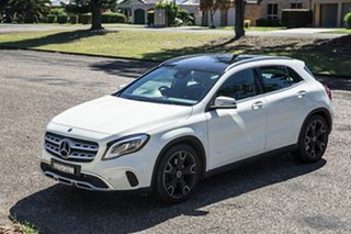 2017 Mercedes-Benz GLA-Class X156 808MY GLA250 DCT 4MATIC Cirrus White 7 Speed