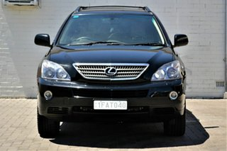 2007 Lexus RX MHU38R RX400h Black 1 Speed Constant Variable Wagon Hybrid.