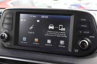 2018 Hyundai Santa Fe Maroon Wagon