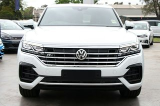 2020 Volkswagen Touareg CR74P3P/20 190TDI Premium Pure White 8 Speed Automatic Wagon