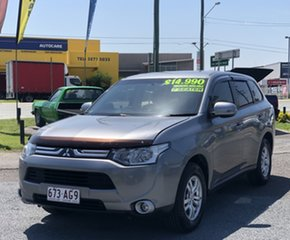2012 Mitsubishi Outlander ZH MY12 LS 2WD Grey 6 Speed Constant Variable Wagon
