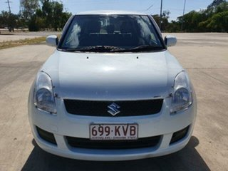 2008 Suzuki Swift RS415 White 4 Speed Automatic Hatchback.