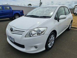 2011 Toyota Corolla ZRE152R MY11 Ascent Glacier 4 Speed Automatic Hatchback.