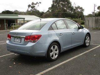 2010 Holden Cruze JG CDX Iced Blue 6 Speed Automatic Sedan