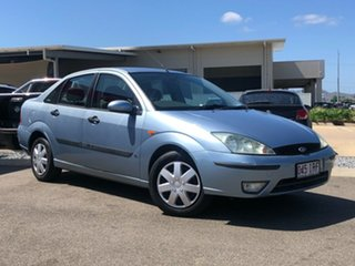 2005 Ford Focus LS CL Silver 5 Speed Manual Sedan.
