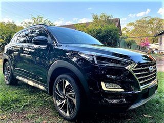 2020 Hyundai Tucson TL3 MY20 Highlander D-CT AWD Phantom Black 7 Speed Sports Automatic Dual Clutch.