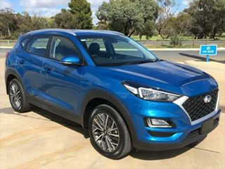 2019 Hyundai Tucson TL4 MY20 Active X 2WD Aqua Blue 6 Speed Automatic Wagon.