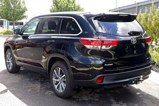 2017 Toyota Kluger Black Wagon.