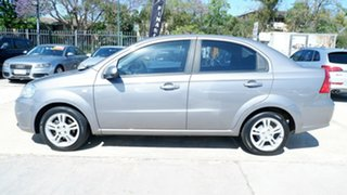 2010 Holden Barina TK MY10 Grey 4 Speed Automatic Sedan