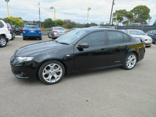 2012 Ford Falcon FG Upgrade XR6 Silver 6 Speed Auto Seq Sportshift Sedan