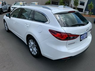 2013 Mazda 6 GJ1031 Touring SKYACTIV-Drive White 6 Speed Sports Automatic Wagon
