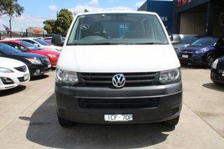 2014 Volkswagen Transporter T5 MY15 TDI 400 SWB Low White 7 Speed Auto Direct Shift Van.