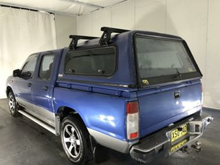 2000 Nissan Navara D22 S3 ST 4x2 Blue 4 Speed Automatic Utility