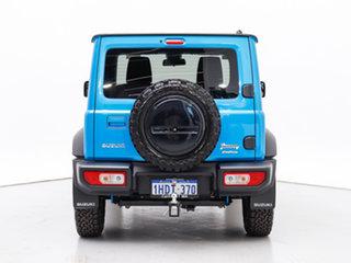 2019 Suzuki Jimny GJ Blue 5 Speed Manual 4x4 Wagon