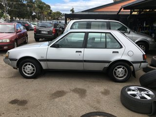 1988 Mitsubishi Colt RE GLX Silver 3 Speed Automatic Hatchback