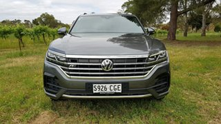 2019 Volkswagen Touareg CR MY20 190TDI Tiptronic 4MOTION Premium Grey 8 Speed Sports Automatic Wagon.