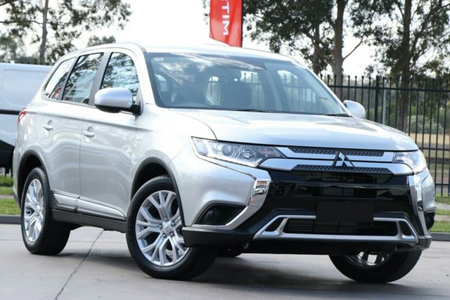 New Mitsubishi Outlander ZL MY21 ES 2WD Wantirna South, 2021 Mitsubishi Outlander ZL MY21 ES 2WD Sterling Silver 5 Speed Manual Wagon