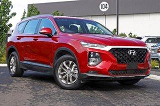 2018 Hyundai Santa Fe Maroon Wagon.