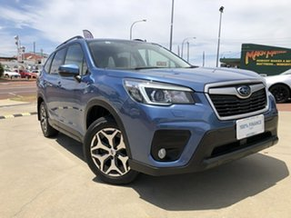 2019 Subaru Forester MY19 2.5I (AWD) Blue Continuous Variable Wagon.