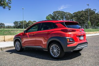 2017 Hyundai Kona OS MY18 Elite 2WD Tangerine Comet 6 Speed Sports Automatic Wagon