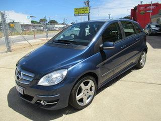 2010 Mercedes-Benz B180 W245 B180 Blue Automatic Hatchback.