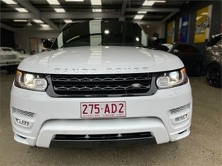 2014 Land Rover Range Rover Sport L494 Autobiography Dynamic White Sports Automatic Wagon.
