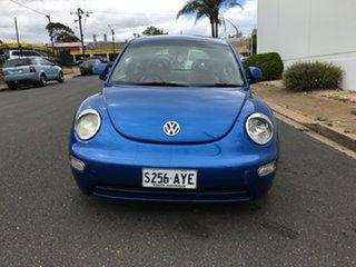 2000 Volkswagen Beetle 9C Coupe Blue 4 Speed Automatic Liftback