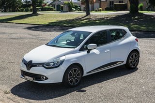 2016 Renault Clio IV B98 Expression EDC White 6 Speed Sports Automatic Dual Clutch Hatchback