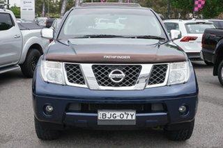 2005 Nissan Pathfinder R51 TI Blue 5 Speed Sports Automatic Wagon.