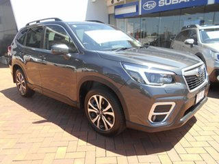 2020 Subaru Forester S5 MY21 2.5i Premium CVT AWD Magnetite Grey 7 Speed Constant Variable Wagon.