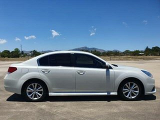 2014 Subaru Liberty B5 MY14 2.5i Lineartronic AWD Satin White 6 Speed Constant Variable Sedan