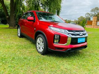 2020 Mitsubishi ASX XD MY20 ES 2WD Red Diamond 1 Speed Constant Variable Wagon.
