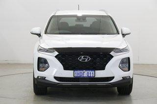 2020 Hyundai Santa Fe TM.2 MY20 Active White Cream 8 Speed Sports Automatic Wagon.