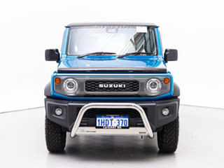 2019 Suzuki Jimny GJ Blue 5 Speed Manual 4x4 Wagon.