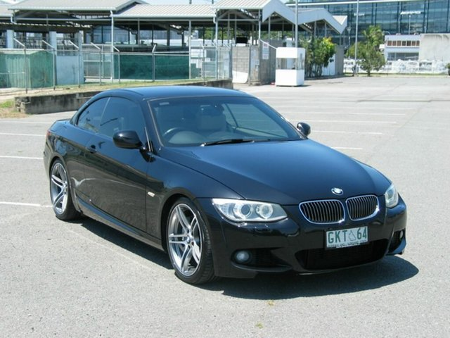 Used BMW 335i E93 MY11 M Sport Albion, 2011 BMW 335i E93 MY11 M Sport Black 7 Speed Auto Direct Shift Convertible