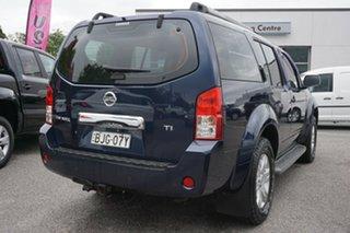 2005 Nissan Pathfinder R51 TI Blue 5 Speed Sports Automatic Wagon