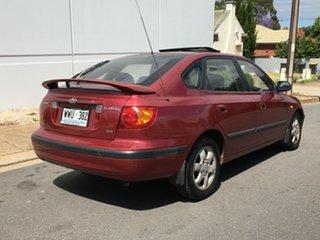 2002 Hyundai Elantra XD GL Burgundy 5 Speed Manual Hatchback.