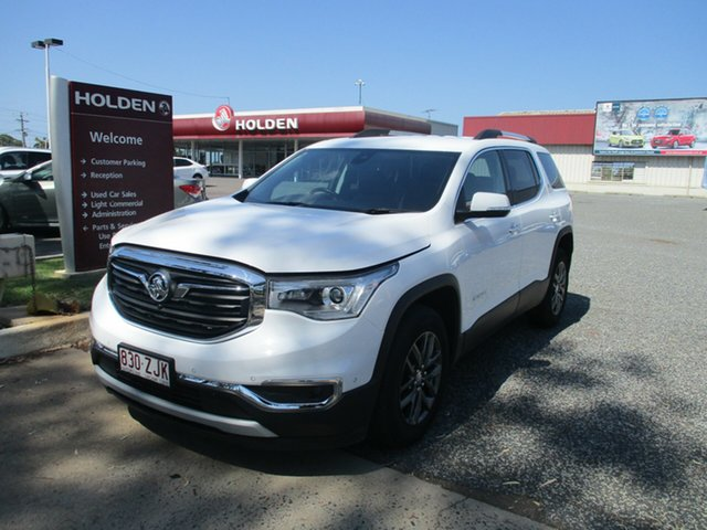 Used Holden Acadia AC MY19 LTZ 2WD North Rockhampton, 2019 Holden Acadia AC MY19 LTZ 2WD White 9 Speed Sports Automatic Wagon